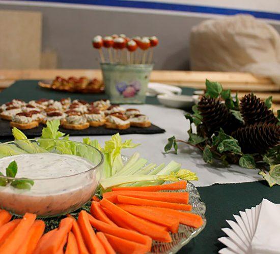 Inauguración toda vegetariana