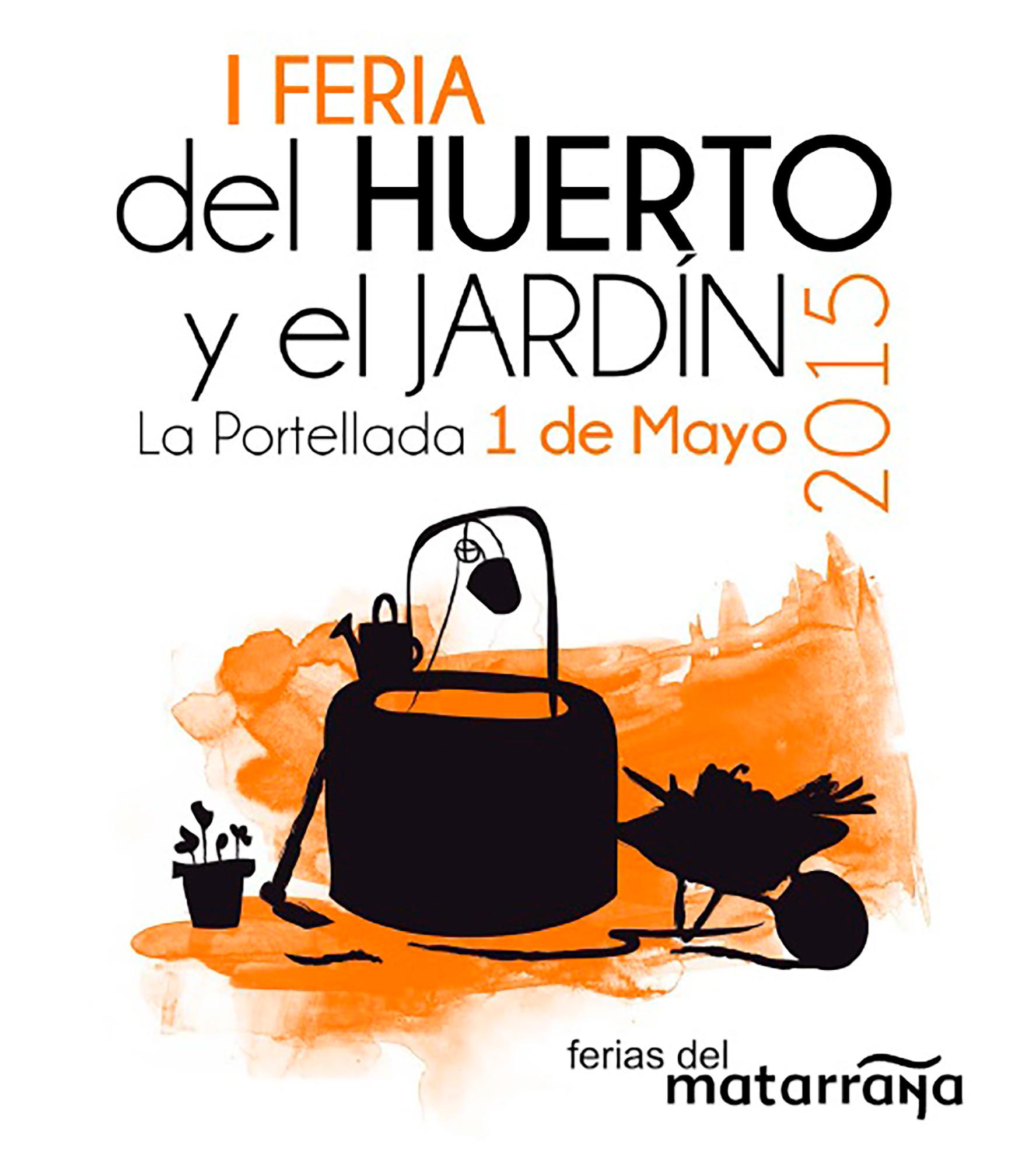 Feria del huerto y el jardín La portellada 1 de mayo de 2015
