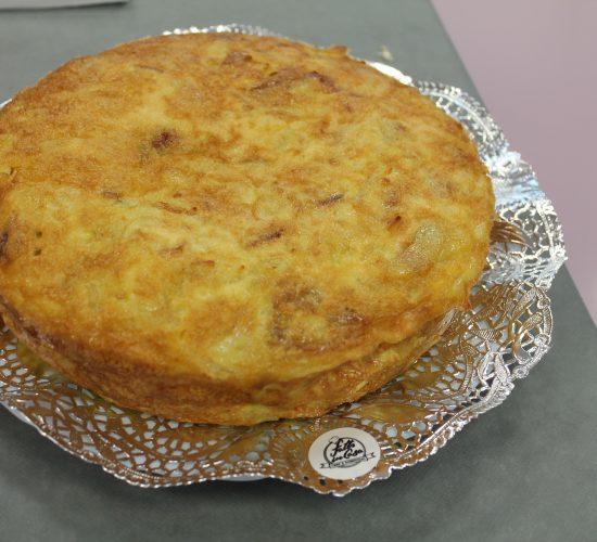 Comida para llevar - tortilla